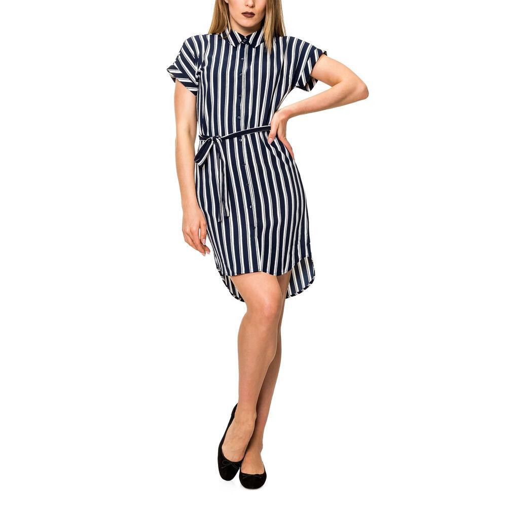 Vero Moda Damen Hemdblusen Hemd Kleid Sommerkleid