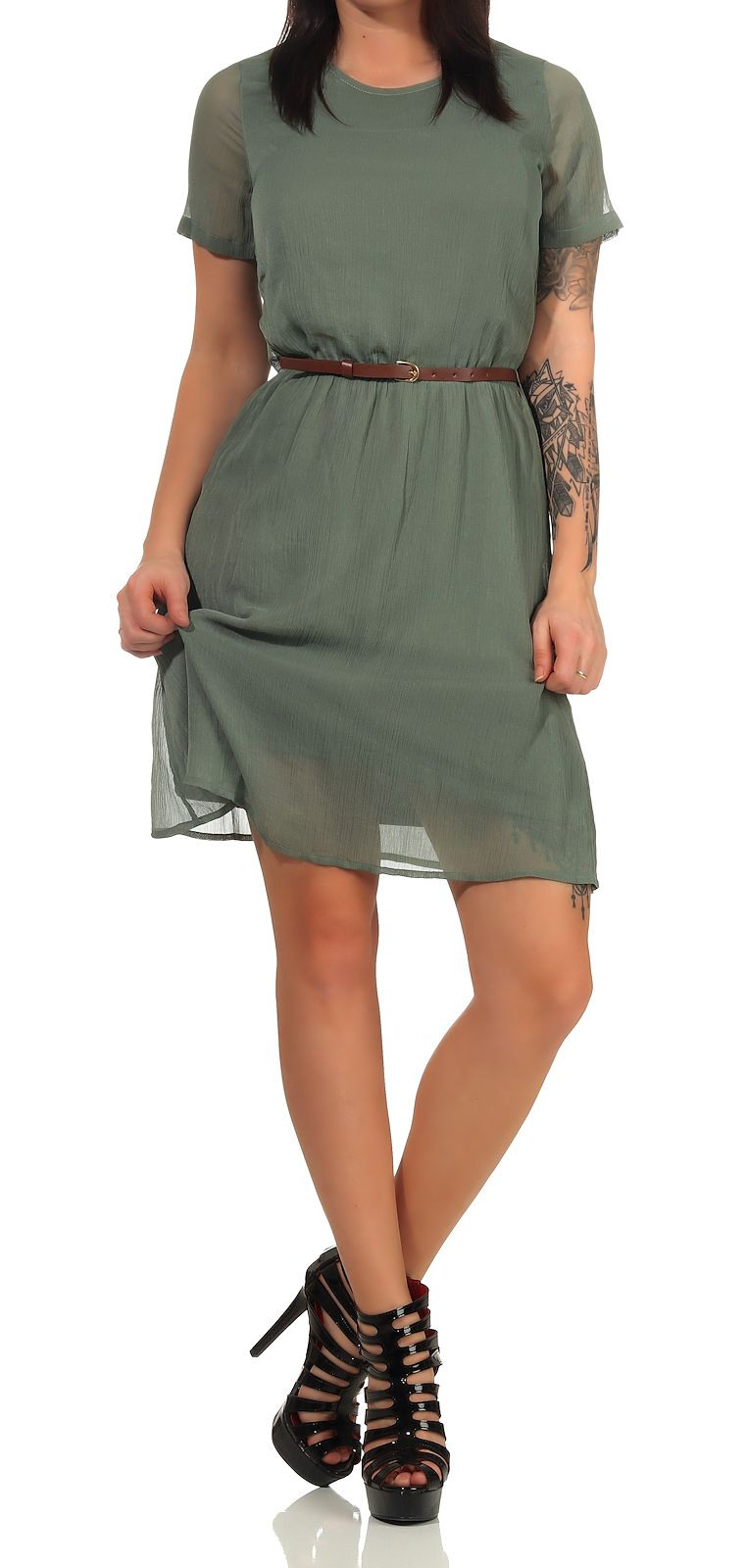 Vero Moda Damen Kleid Frida  Röcke/ Kleider  Damen  Le