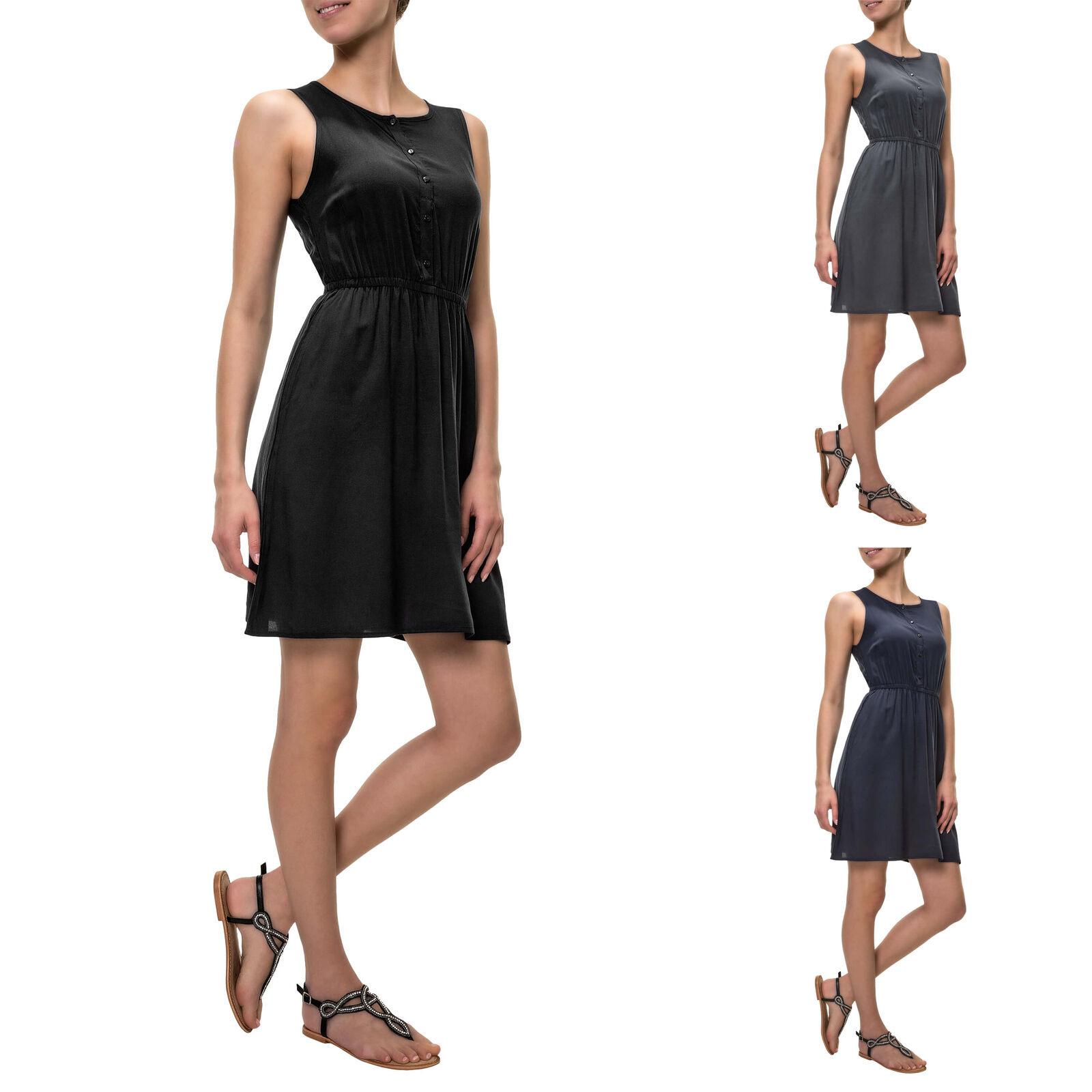 Vero Moda Damen Sommerkleid Print Kurzarm Cocktailkleid