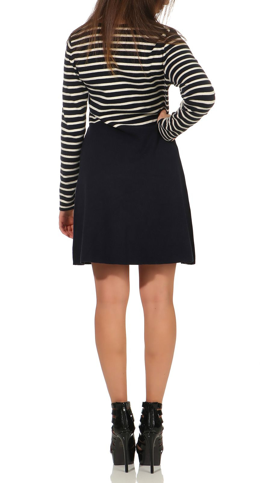 Vero Moda Damen Strickkleid Sailor  Röcke/ Kleider