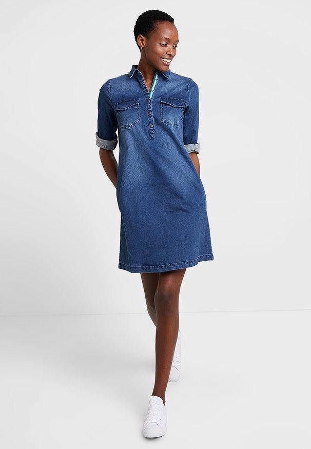Vero Moda Jeanskleid  Light Blue Denim  Zalandode