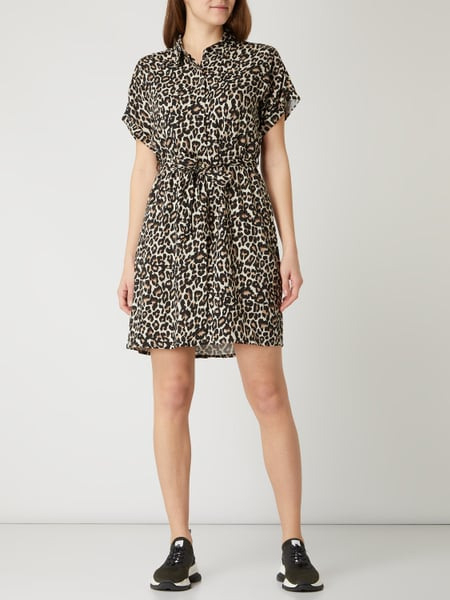 Vero Moda Kleid Mit Allovermuster Modell 'Simply' In Weiß