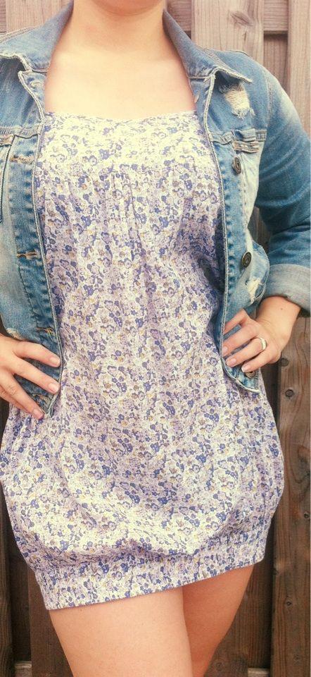 Vero Moda Kleid Sommerkleid Mit Bund Unten  Kleidung