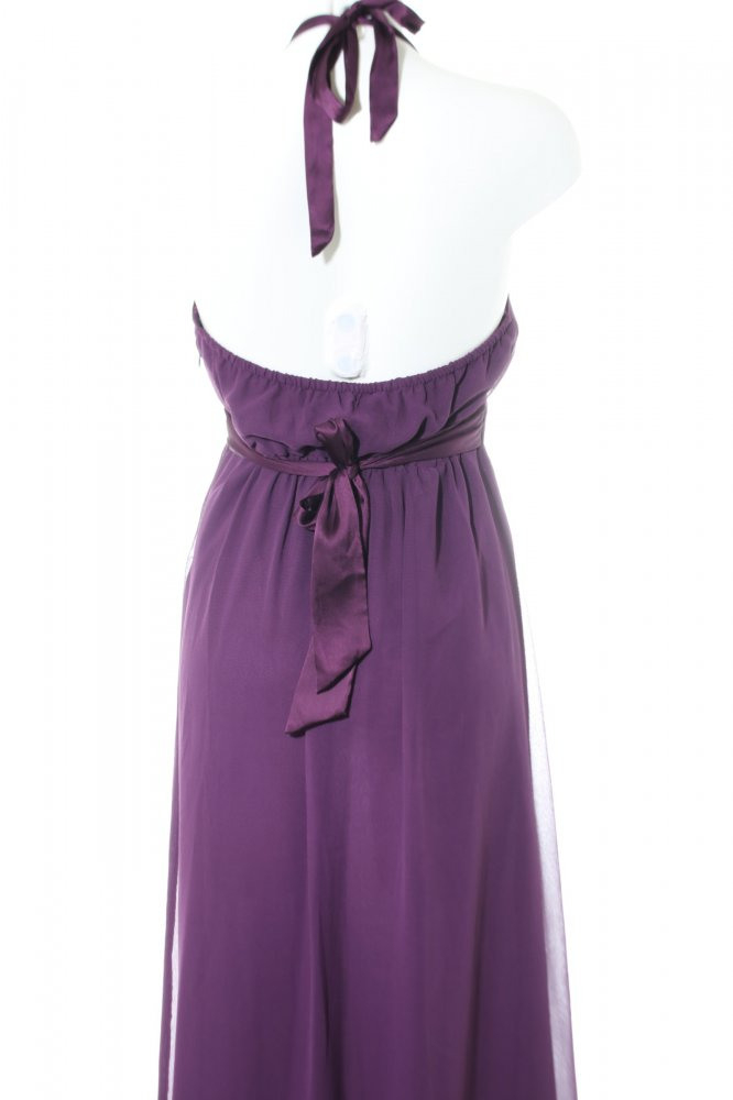 Vero Moda Maxikleid Lila Elegant Damen Gr De 40 Kleid