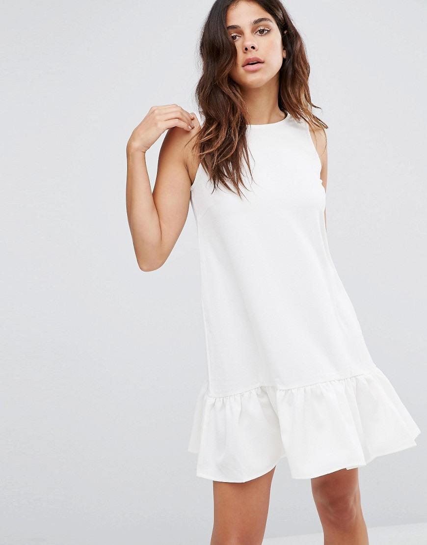Vero Moda  Vero Moda  Kleid Mit Tiefer Taille Bei Asos