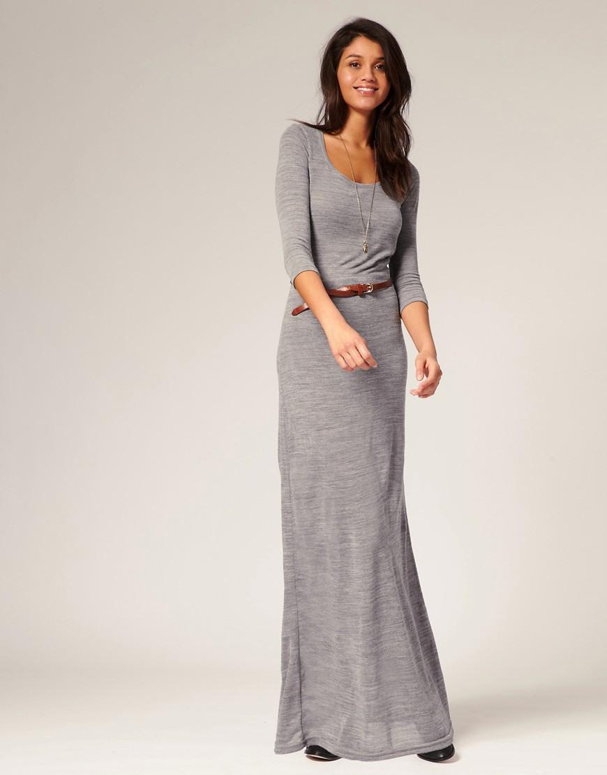 Vero Moda  Vero Moda Knitted Urban Maxi Dress At Asos
