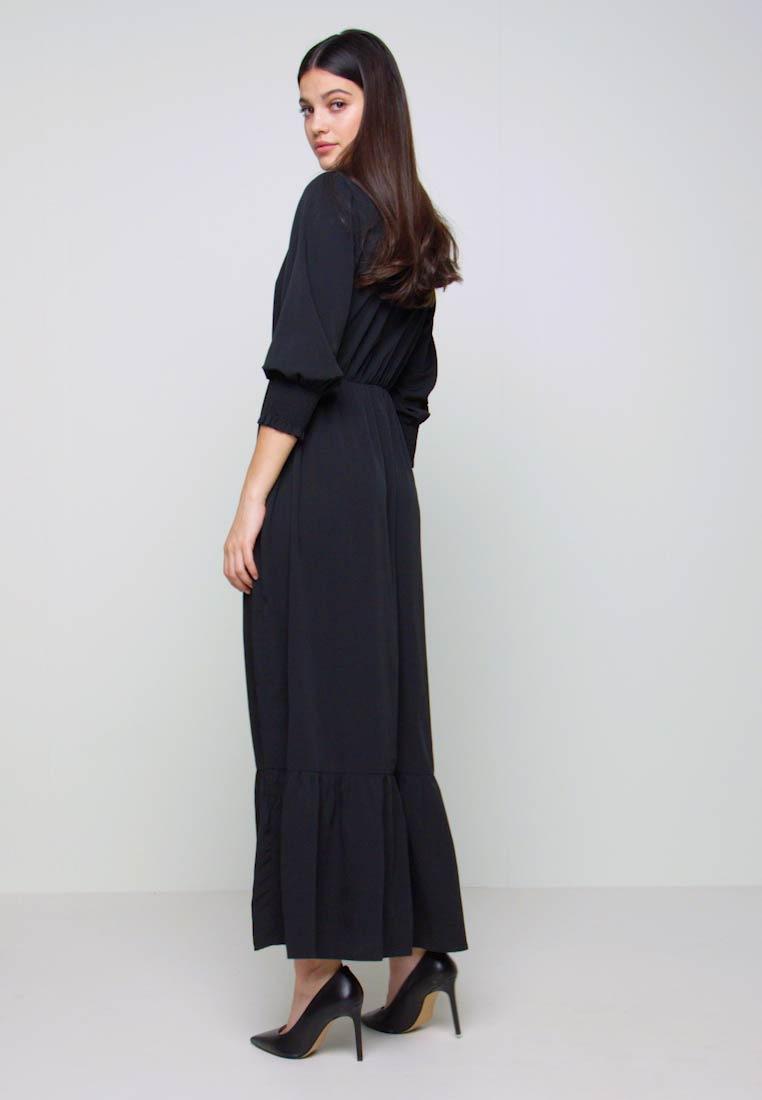Vero Moda Vmmulli 3/4 Ankle Dress Wvn  Maxikleid  Black