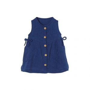 Vertbaudet Baby Mädchen Kleid Mit Taschen Online Kaufen