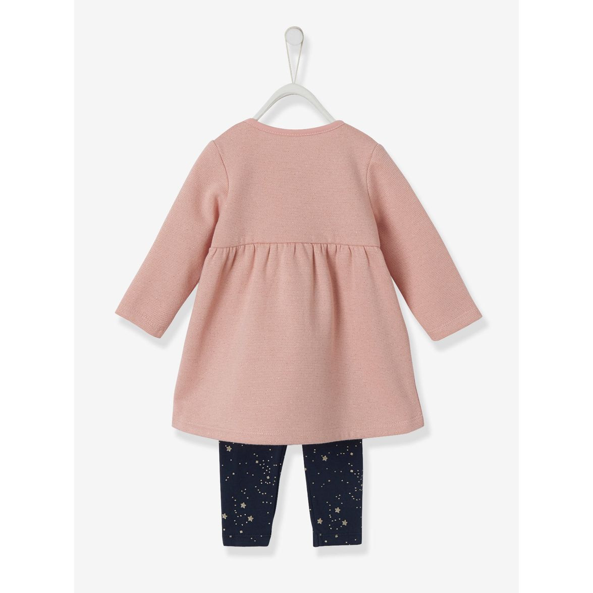 Vertbaudet Kleid Mit Leggings Für Baby Mädchen Online