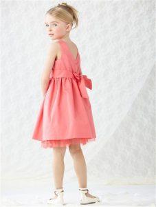 Vertbaudet Mädchen Kleid Dress Hübsches Kleid Für