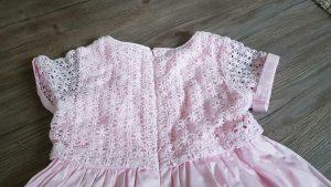 Vertbaudet Mädchen Kleid Gr 122 126 128 Rosa Festlich