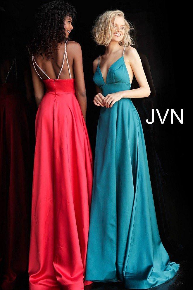 Verzierte Träger Aline Prom Kleid  Tp Kleider