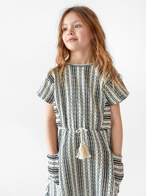 Vestido Crochet  Häkelkleid Zara Kinder Zara