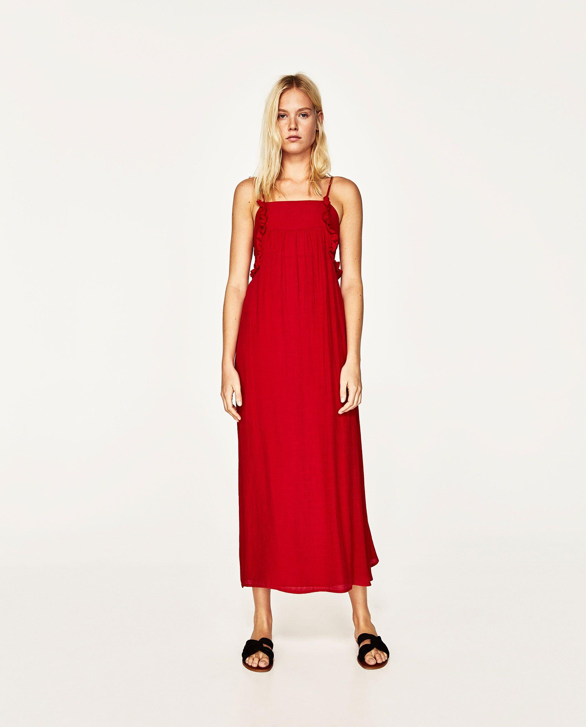 Vestido Lazo Espalda  Kleid Mit Schleife