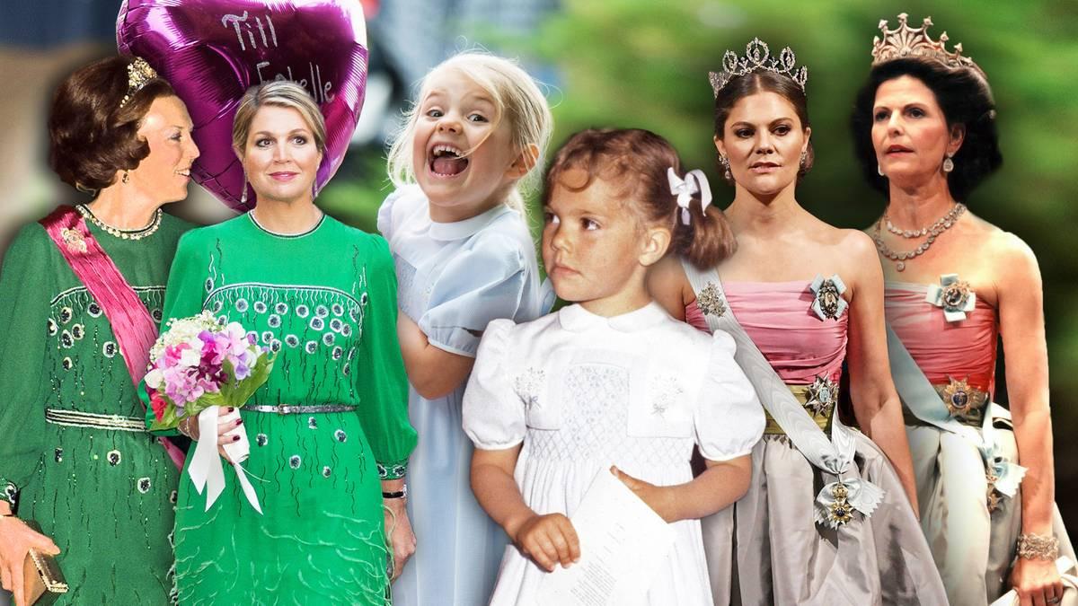 Victoria Letizia Máxima Und Co Sie Tragen Die Kleider