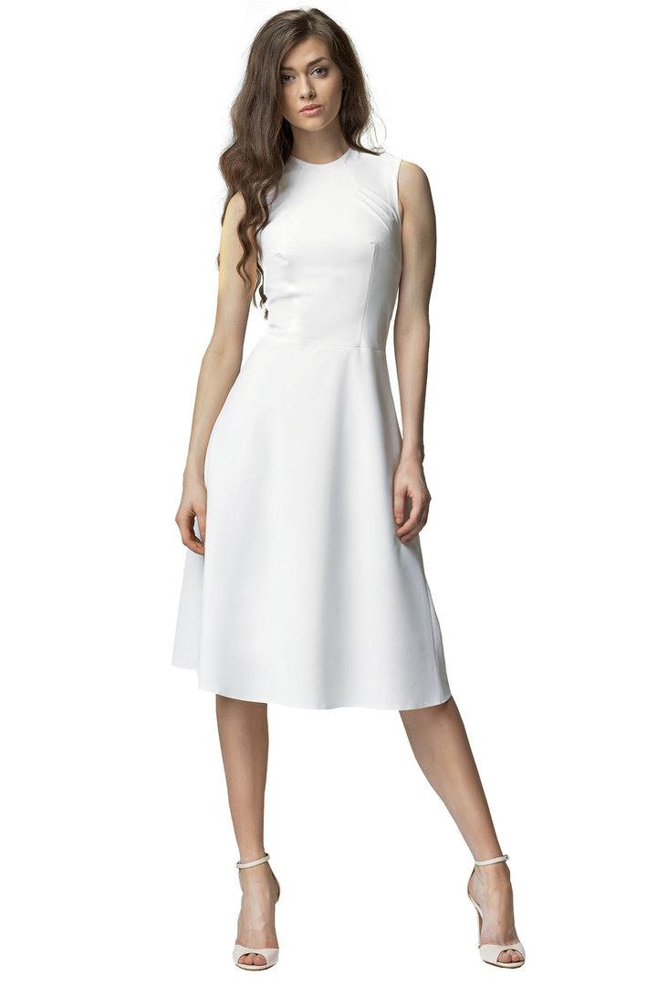 Victoriav  Kleid In Alinie Sommerkleid Blau Rot Schwarz