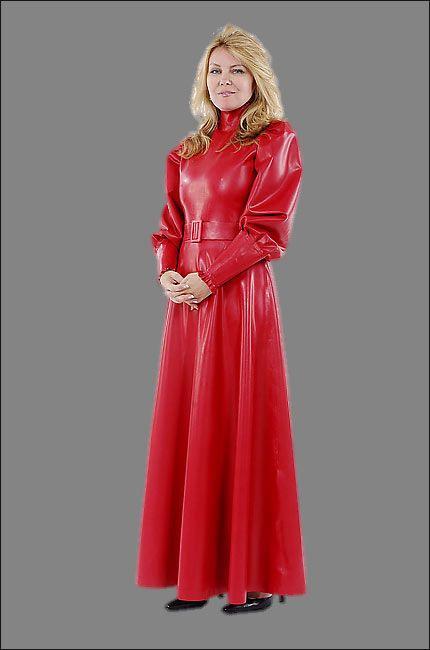 Viktorianisches Bodenlanges Kleid Mit Puffärmeln Und