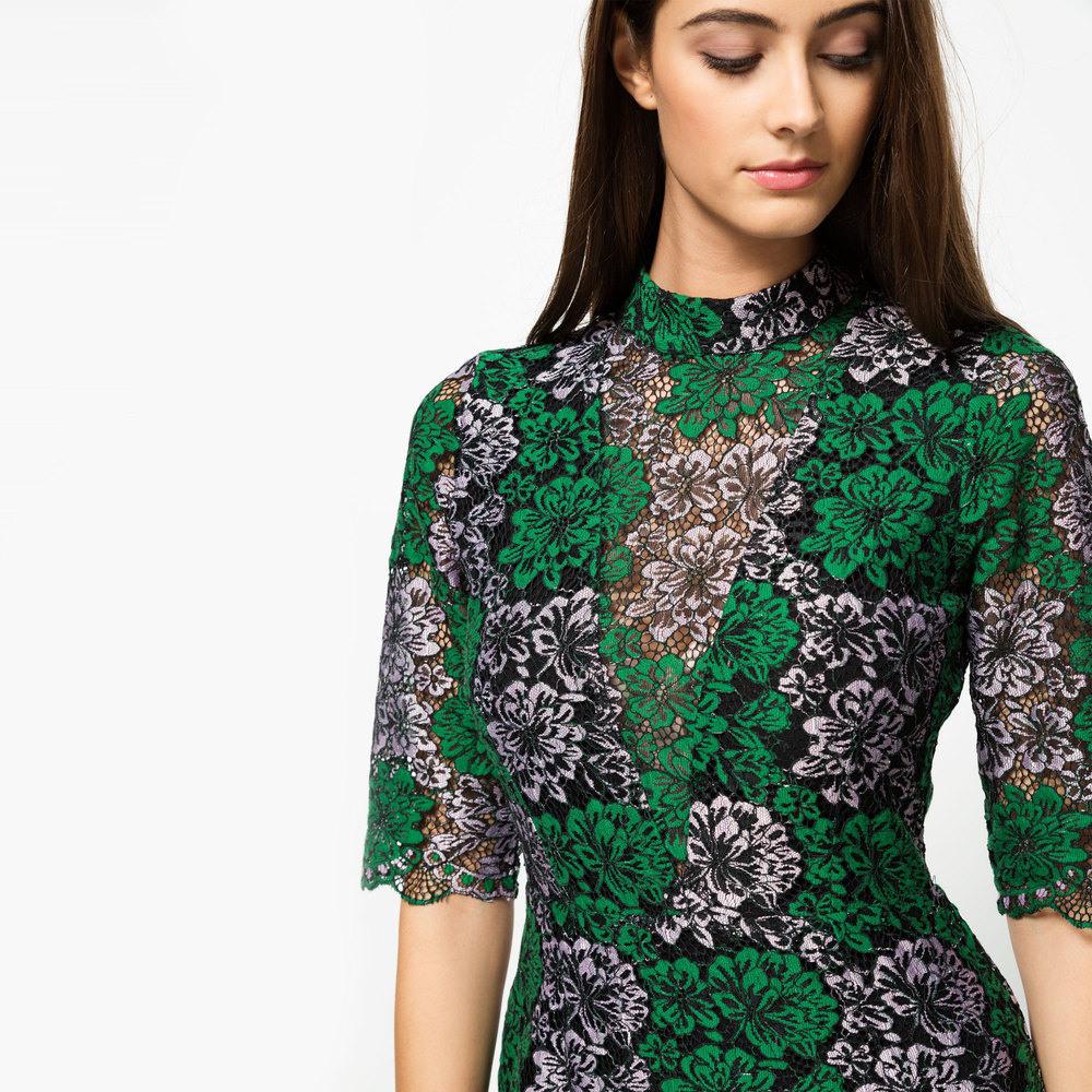 Vila Festliches Kleid Multicolor  Online Kaufen  Manor