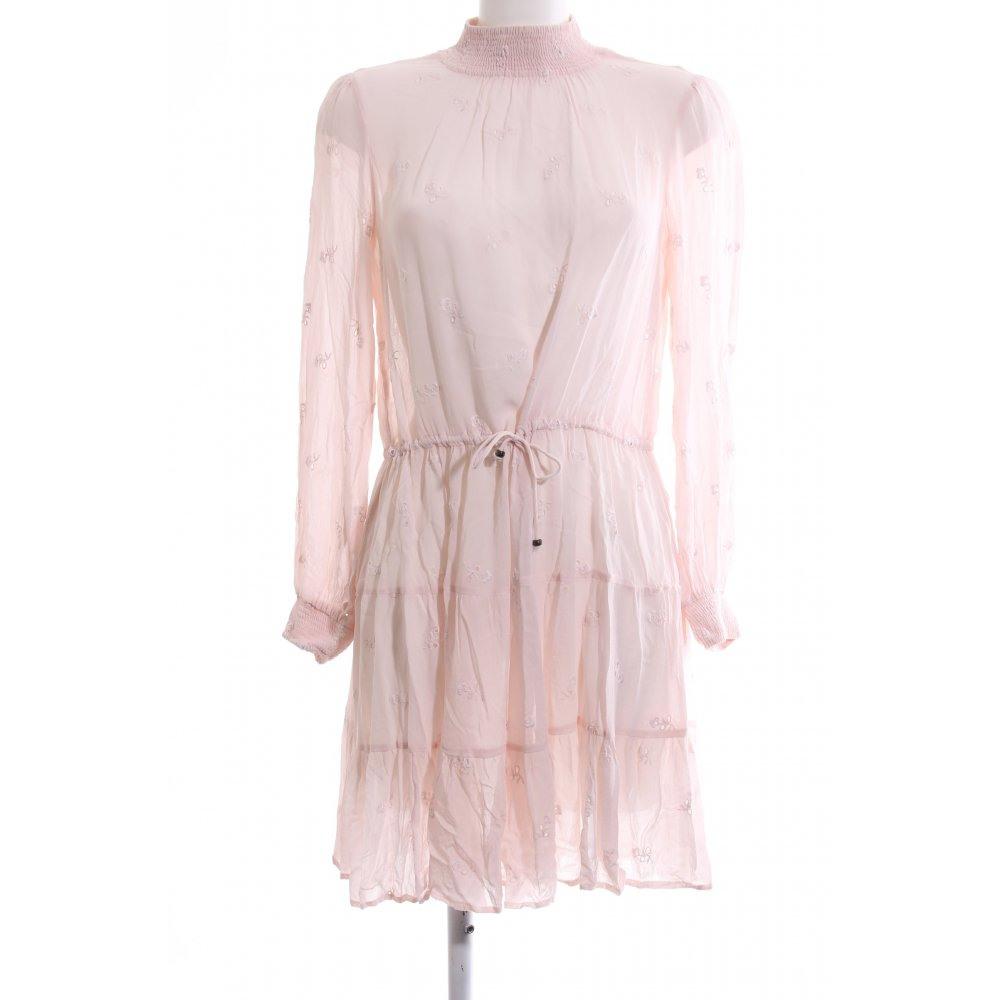 Vila Langarmkleid Pink Elegant Damen Gr De 38 Kleid Dress