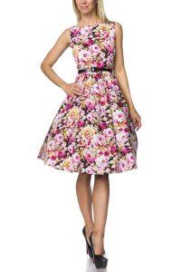 Vintage 14736  Wwwatixode  Kleid Mit Gürtel Kleider