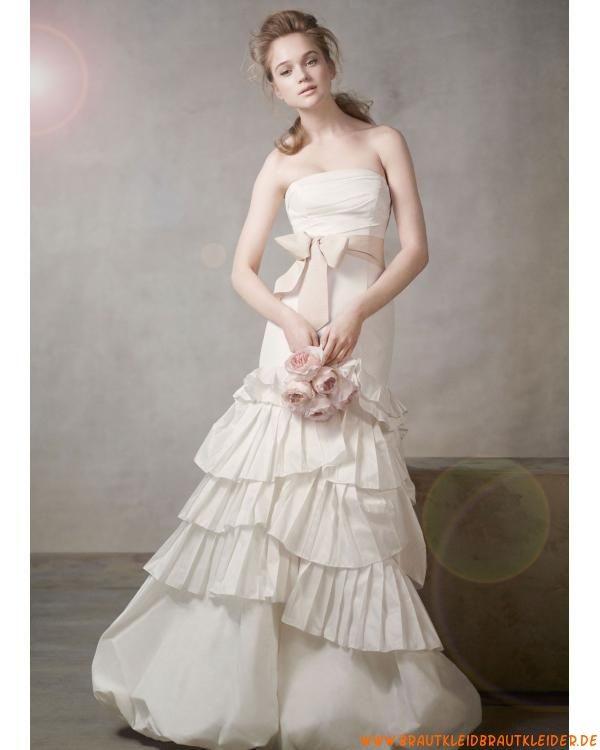 Vintage Außergewöhnliche Traumhafte Brautkleider Aus Taft
