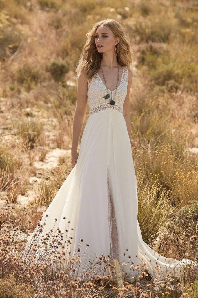 Vintage Brautkleid ♥ Heiraten Im Hippie Look Mit Dolcevita