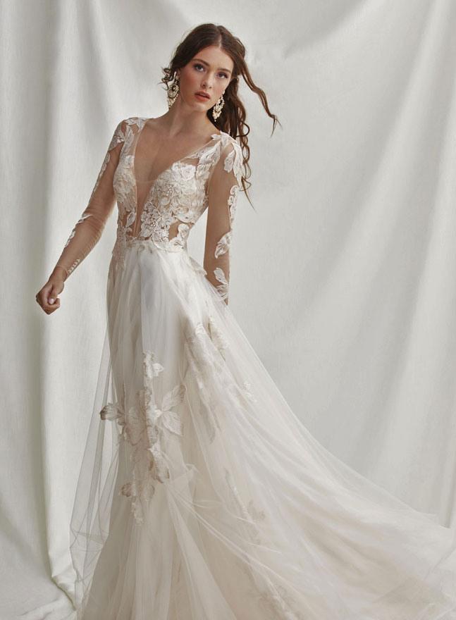 Vintage Brautkleider  Hochzeitskleider Im Hippe  Boho