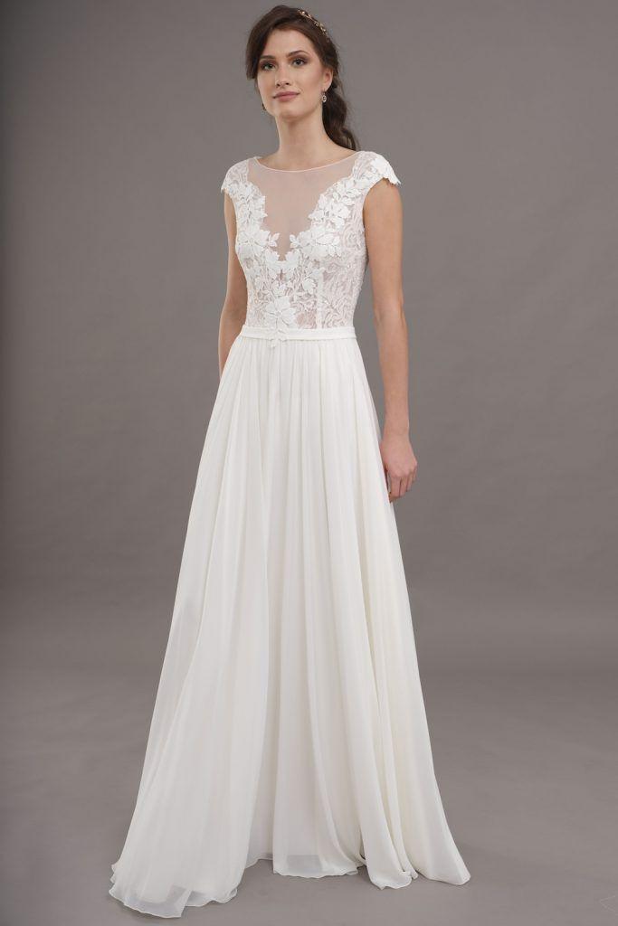 Vintage  Happy Brautmoden  Kleid Hochzeit Brautkleider