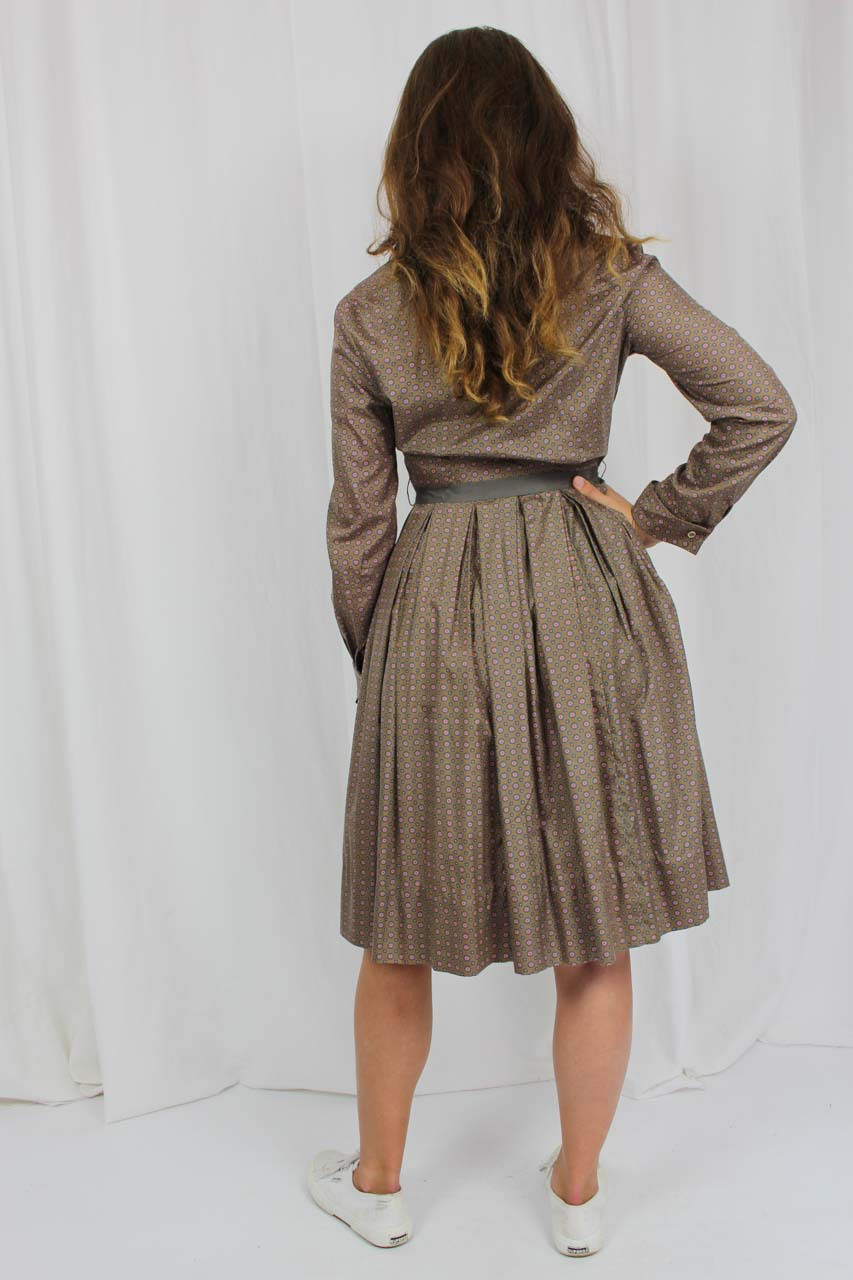 """Vintage Kleid Braun 60Er Jahre """"Kethi""""  Oma Klara"""