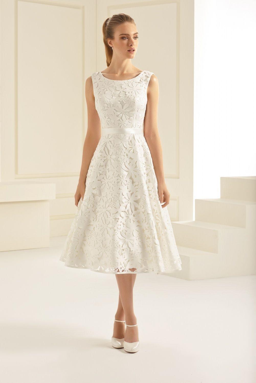 Vintage Standesamtkleid  Brautmode Brautkleid Kleider
