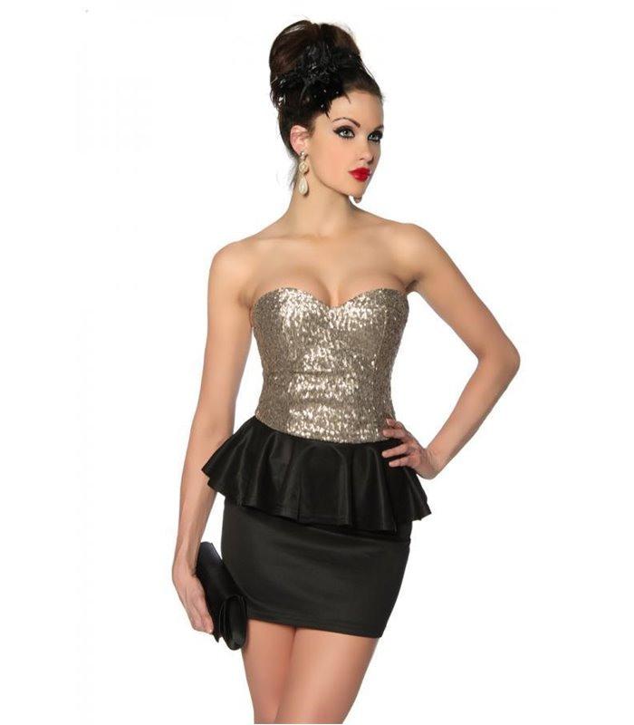 Vintagekleid Mit Pailletten  Kleider  Dresses