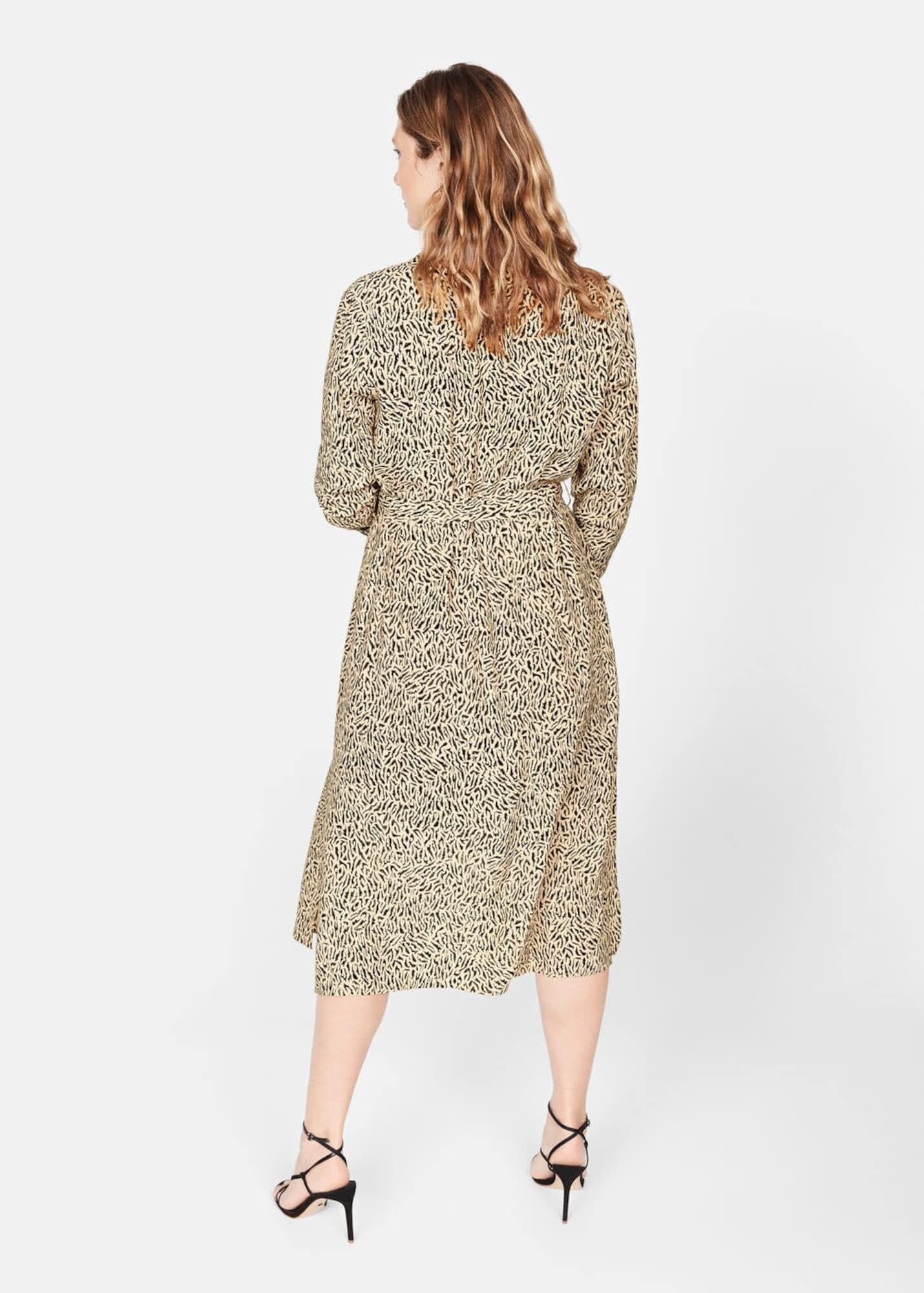 Violetamango Kleid 'Leopard' Damen Beige Größe 38