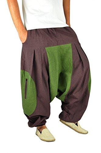 Virblatt  Haremshose Herren Damen Aladinhose Alternative