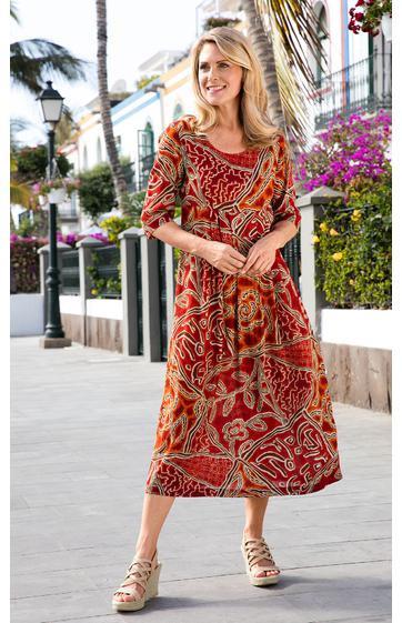 Viskosekleid Online Bestellen Bei Dw Shop  210 609/54