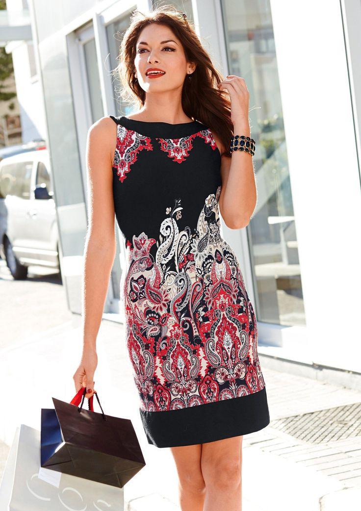 Vivance Etuikleid Für  Baur  Etuikleid Kleider Modestil