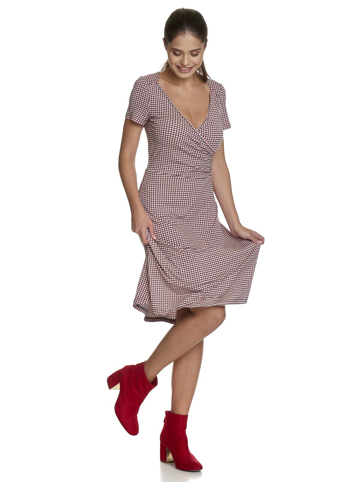Vive Maria Ma Ville Dress Red Allover  Ebay