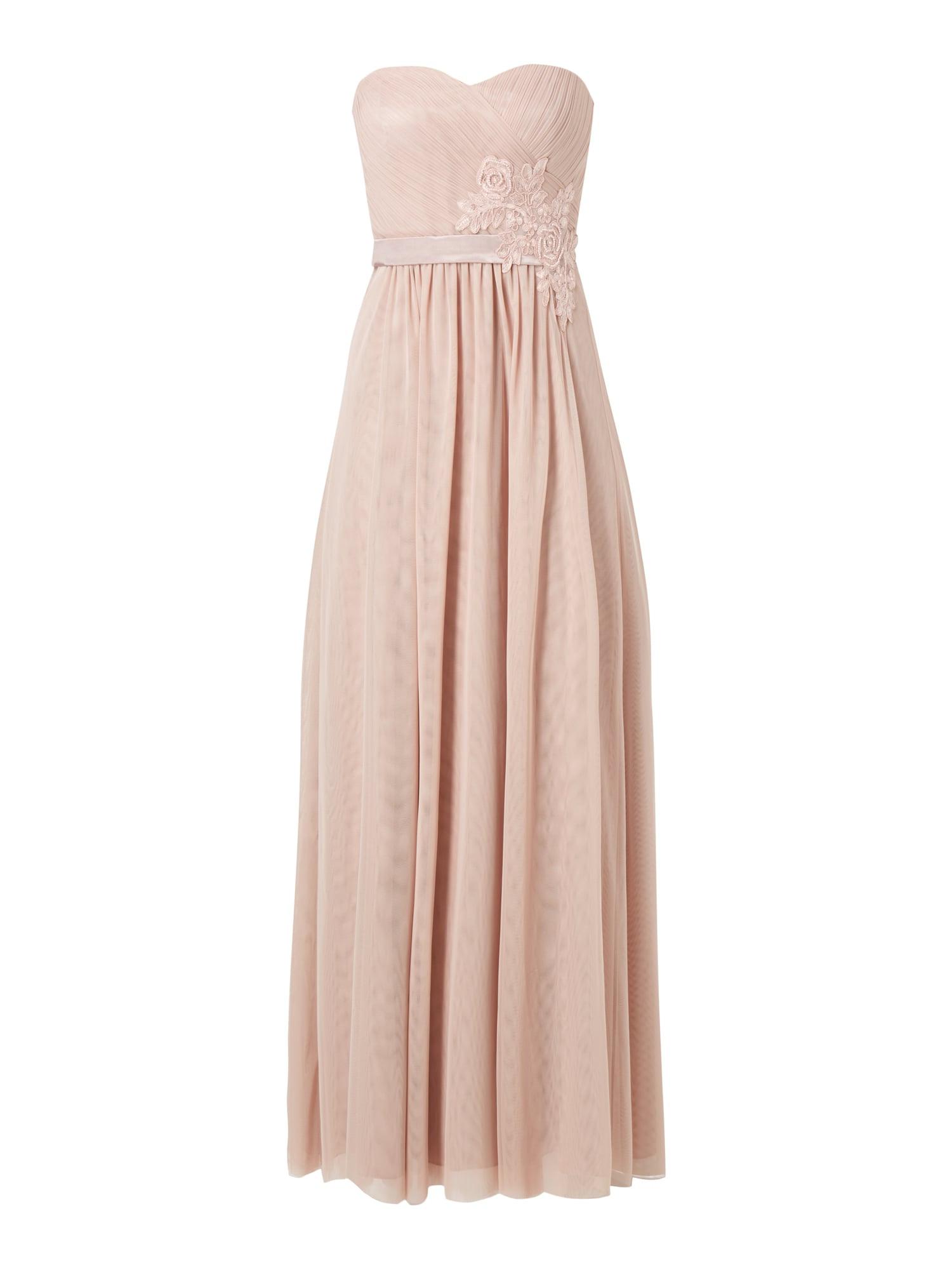 Vm Abendkleid Mit Herzausschnitt In Rosé Online Kaufen
