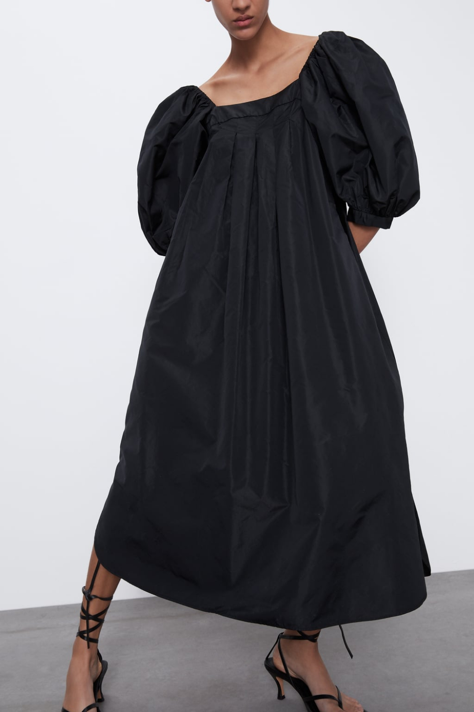 Voluminous Taffeta Dress  Zara United States In 2020