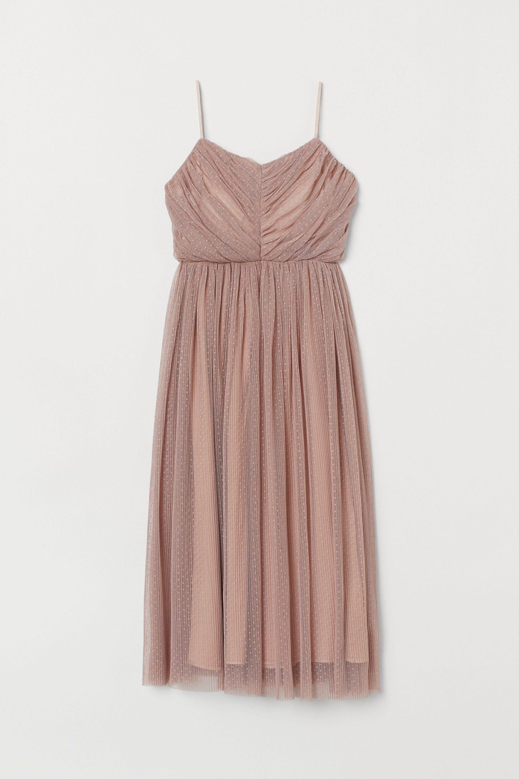 Wadenlanges Tüllkleid  Tüllkleidchen Wadenlanges Kleid