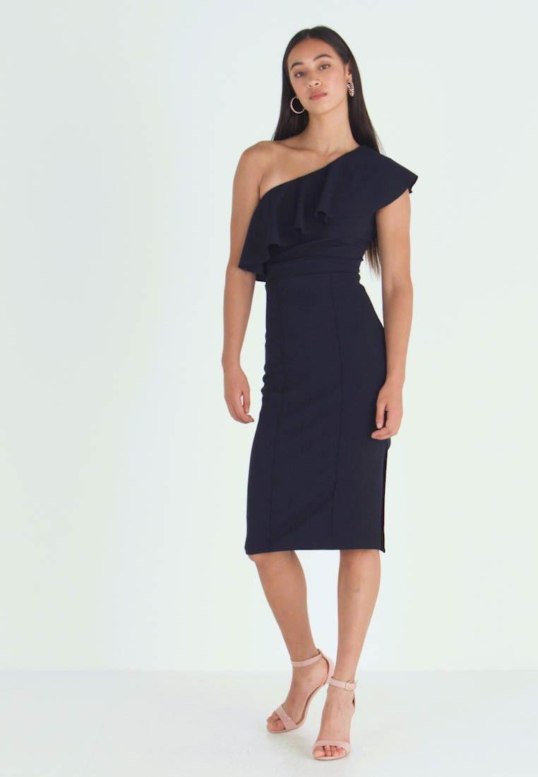 Wal G Frill Off The Shoulder Dress  Cocktailkleid