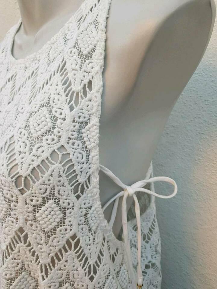 Watercult Kleid Strand Weiß Gr M Häkelkleid ♡Neu Mit