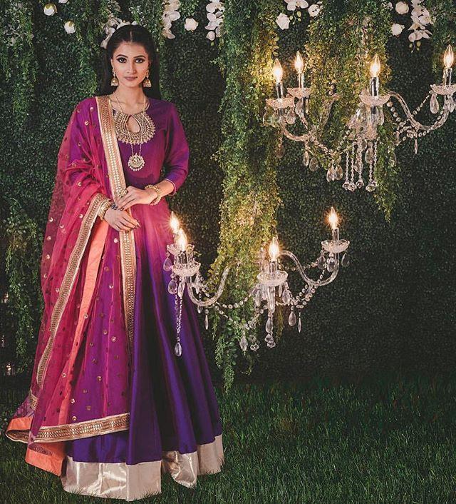 Websta  Desicouture  💜 ️💛  Indische Kleider Brautmode