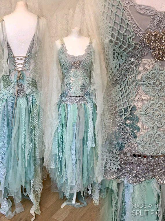 Wedding Dress Aqua Colorbridal Gown Mermaid Colors