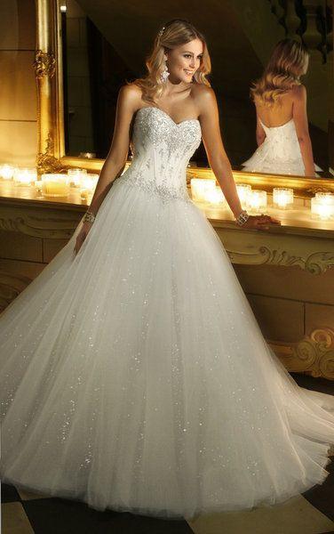 Wedding Dress Glitter  Dress Glitter
