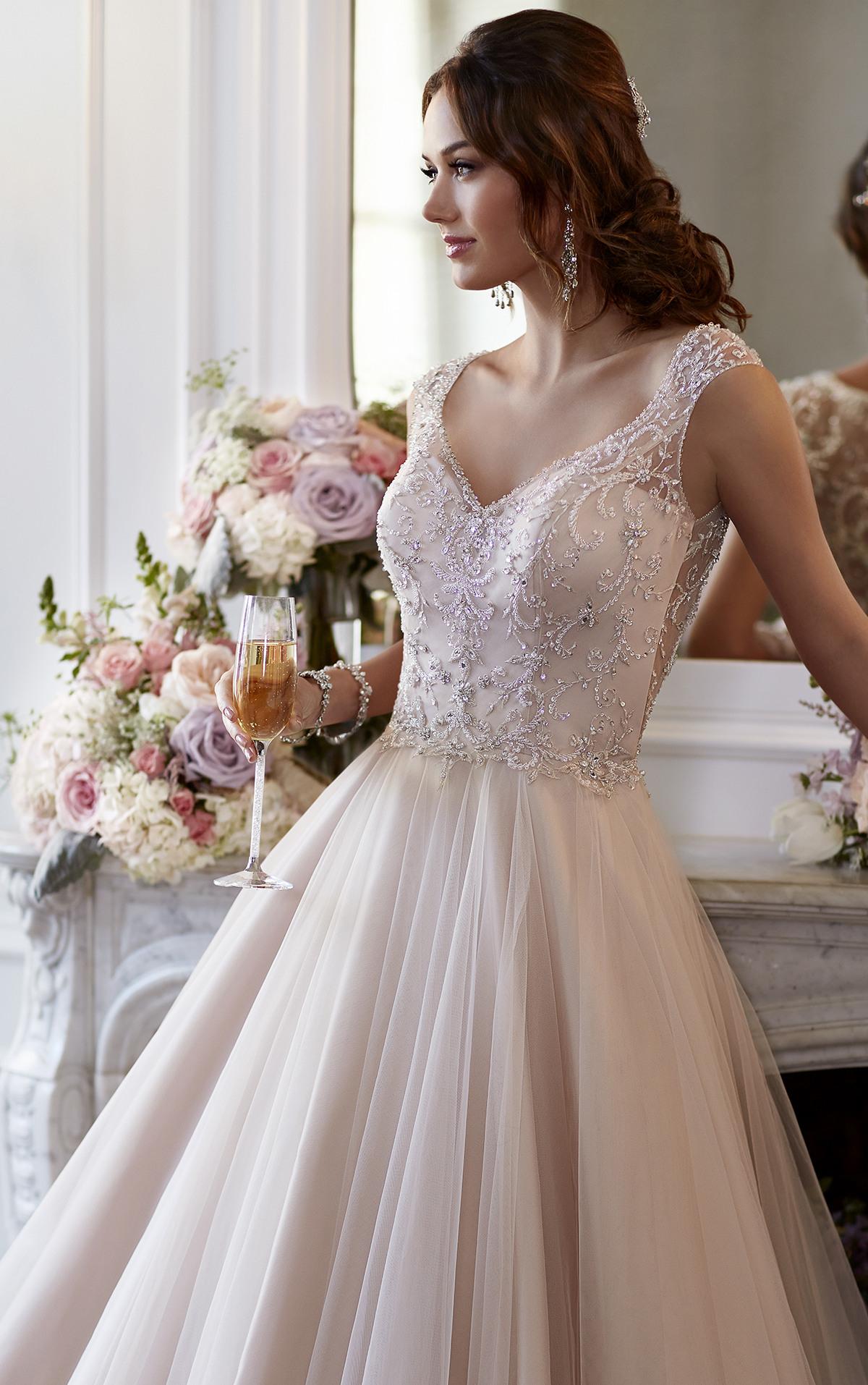 Wedding Dresses  Tulle Aline Wedding Gown  Stella York