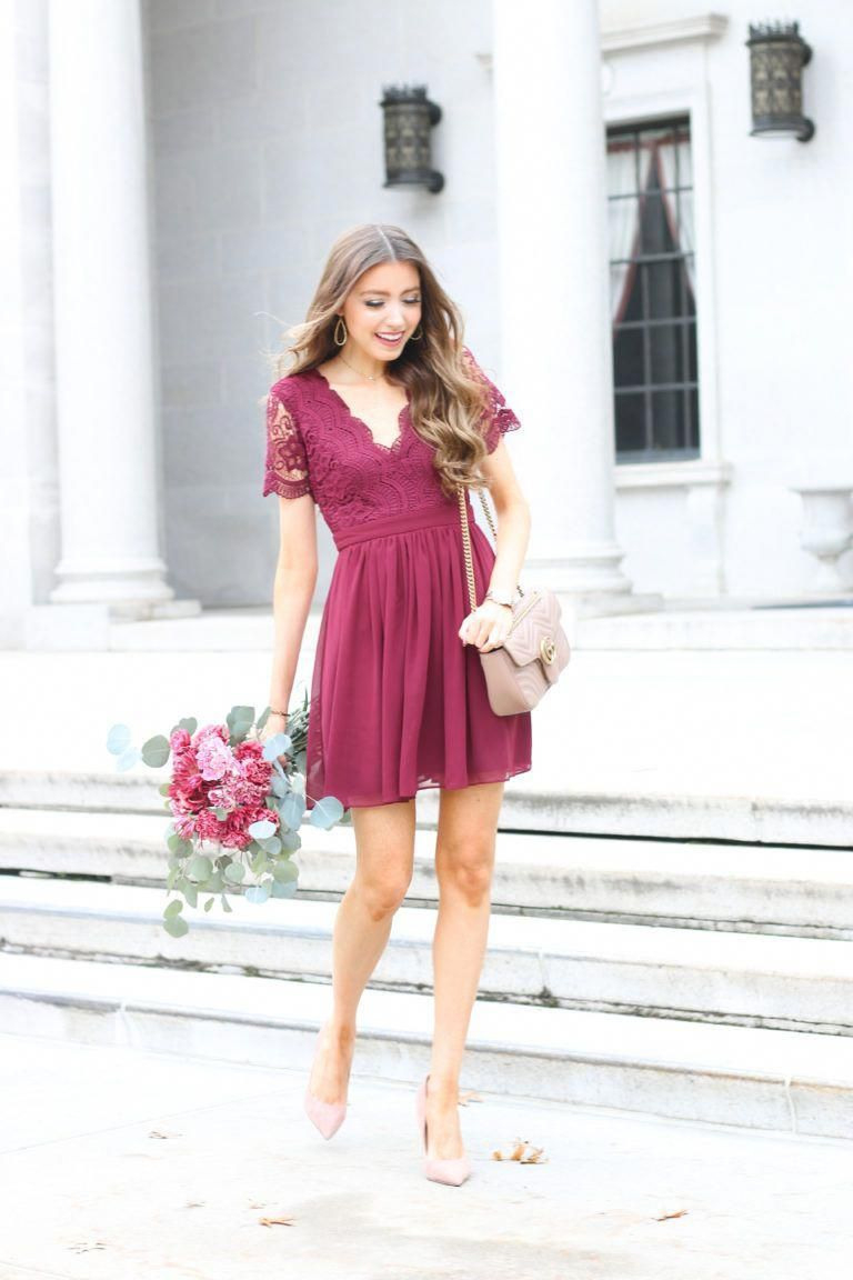 Wedding Guest Dress  What To Wear To A Fall Wedding