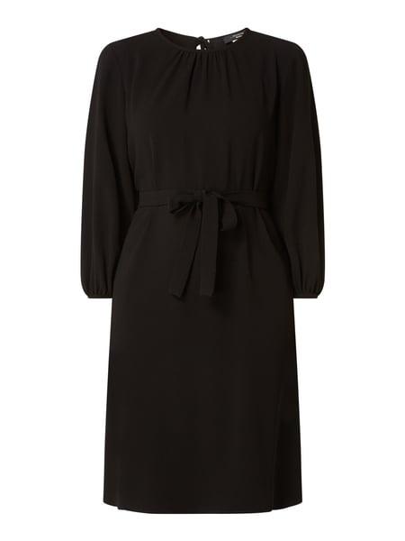 Weekend Max Mara Kleid Aus Krepp Mit Taillengürtel Modell