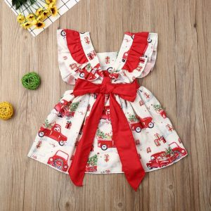 Weihnachten Für Mädchen Weihnachtsoutfit Mädchen Kleid  Etsy