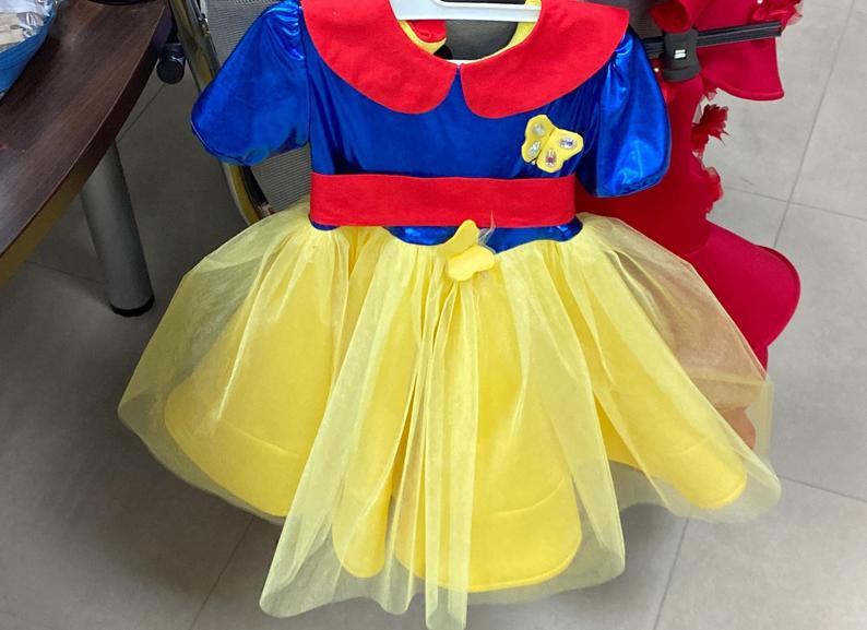 Weihnachtskleid Für Mädchen / Schneewittchen Mädchen Kleid