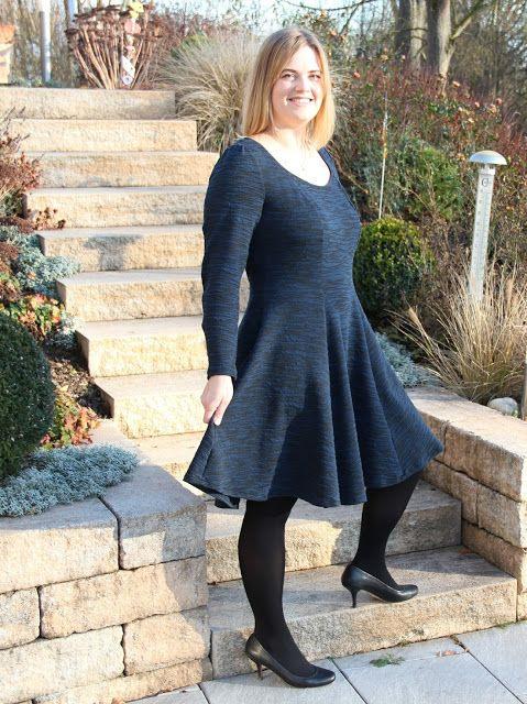 Weihnachtskleid  Langärmliges Anninanni Kleid
